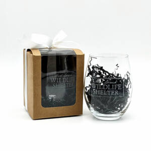 WSWS Stemless WIne Glass 4in