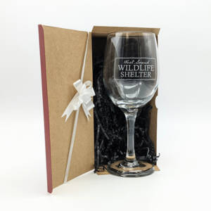WSWS Stemmed WIne Glass 9in