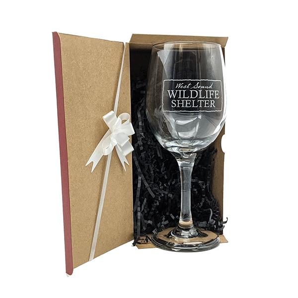 WSWS 9in Stemmed Wine Glass