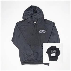 WSWS Black pullover hoodie