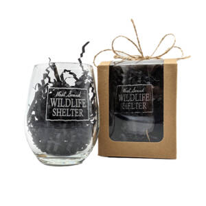 WSWS Stemless WIne Glass 4.5in