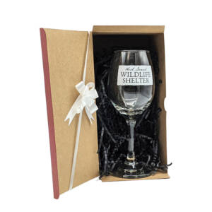 WSWS Stemmed WIne Glass 8in