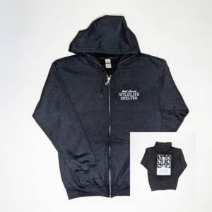 WSWS Black Zip Hoodie