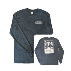 WSWS dark Heather Gray long sleeve t-shirt