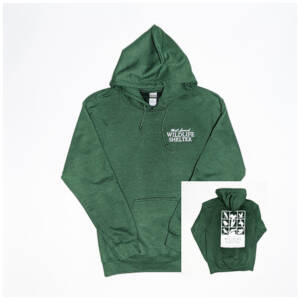 WSWS green pullover hoodie