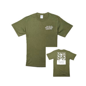 WSWS Olive Short Sleeve T-Shirt
