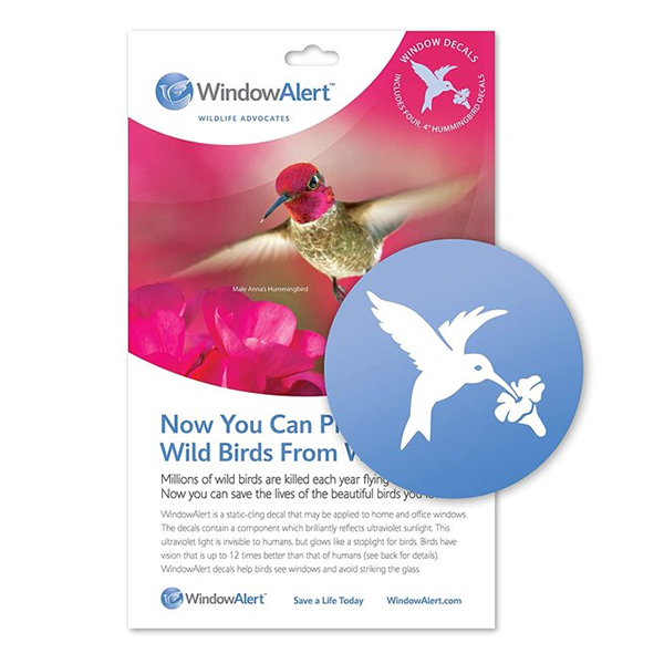 WSWS Hummingbird window decals