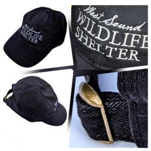 WSWS Black with black bill baseball cap