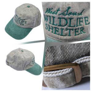 WSWS Khaki with Willow bill baseball cap