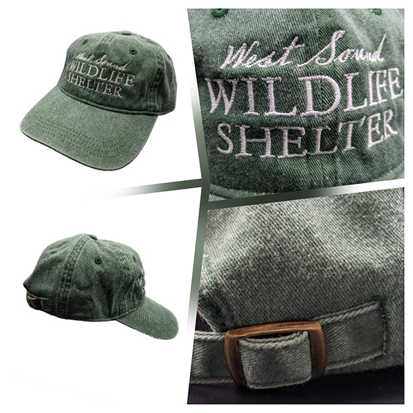 WSWS jungle green baseball cap